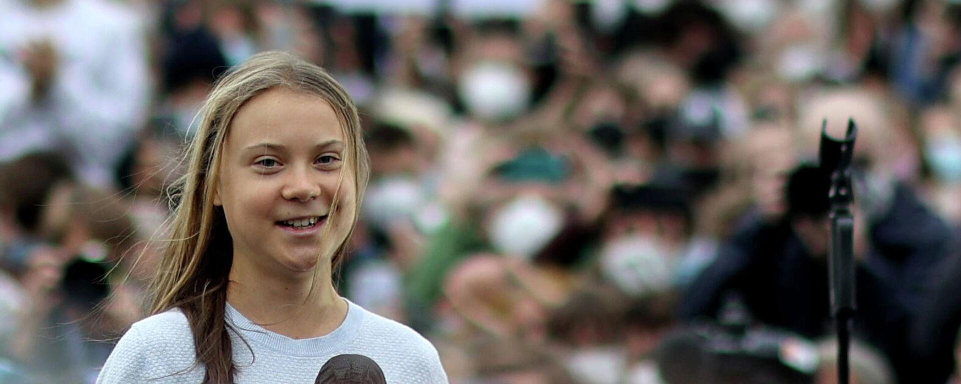 Greta Thunberg in Berlin - SNA, 1920, 29.09.2021