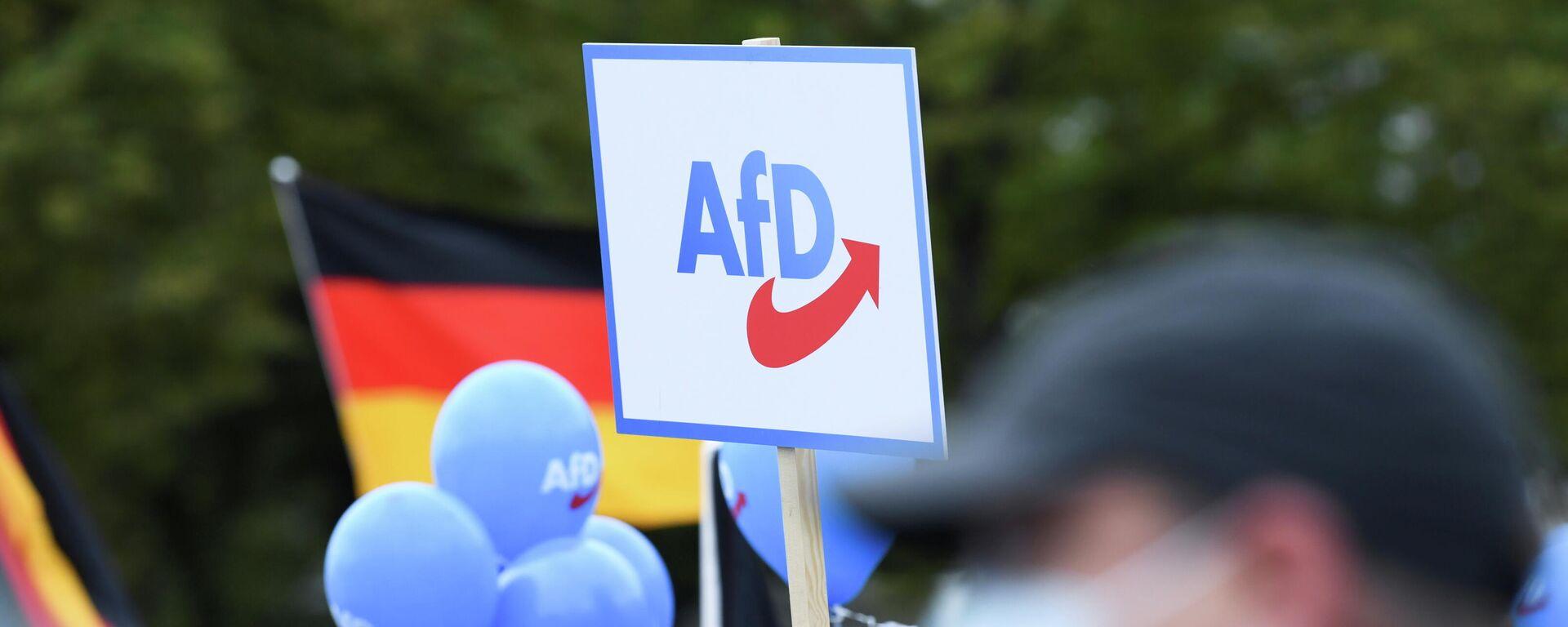 Wahlkampf-Veranstaltung der AfD - SNA, 1920, 29.09.2021