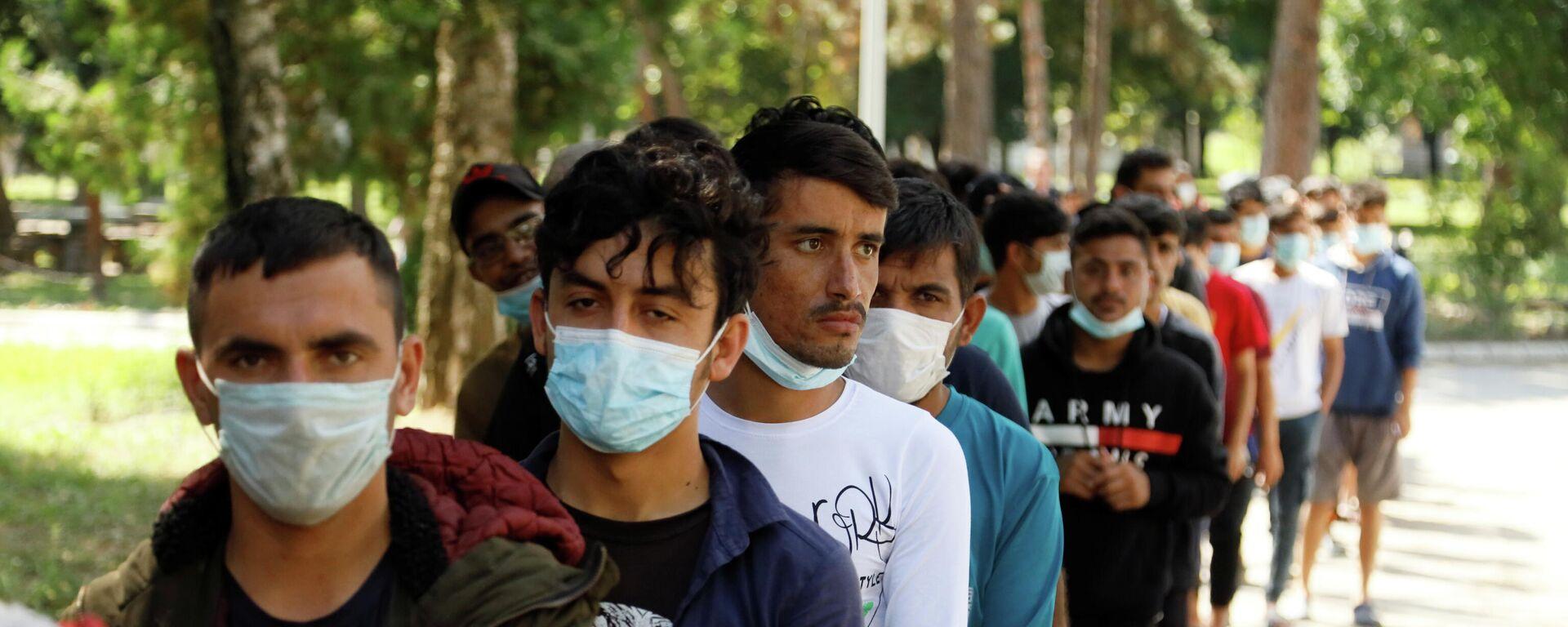 Afghanische Flüchtlinge - SNA, 1920, 25.09.2021