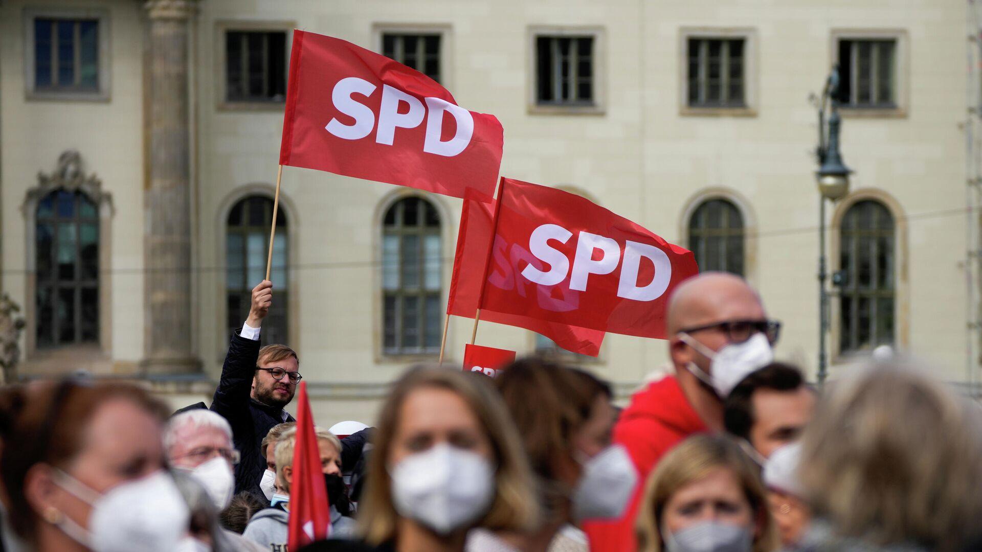 SPD Wahlkampf - SNA, 1920, 25.09.2021