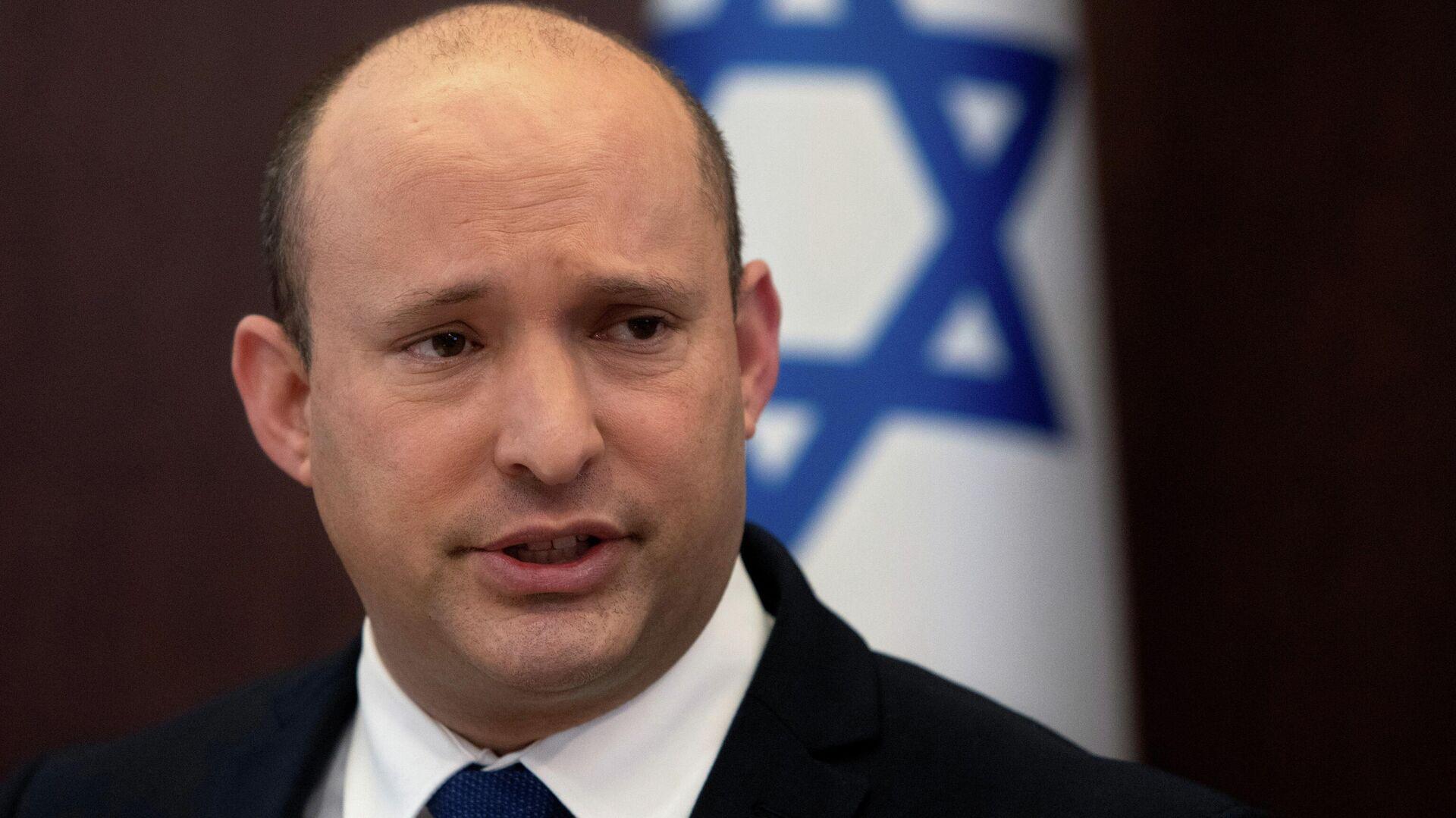 Israels Premier Naftali Bennett - SNA, 1920, 12.10.2021