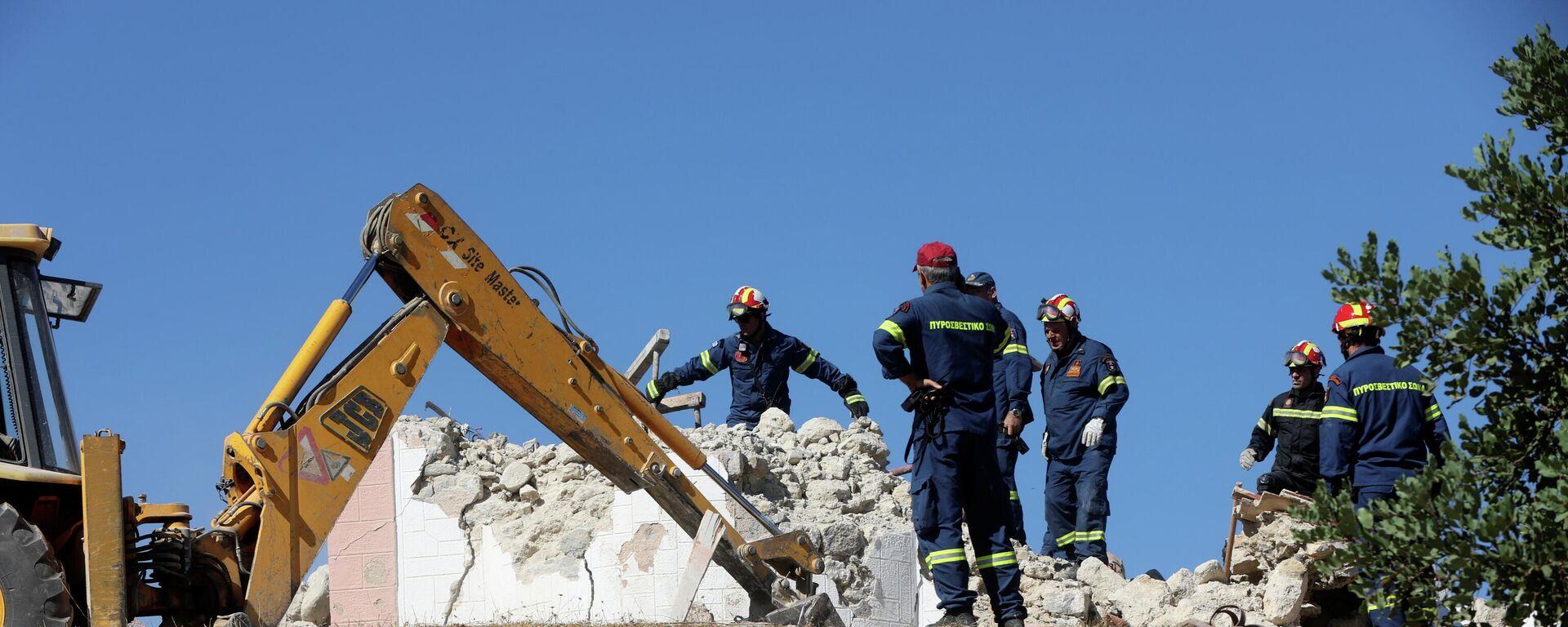 Erdbeben auf der griechischen Urlaubsinsel Kreta am 27. September 2021 - SNA, 1920, 27.09.2021
