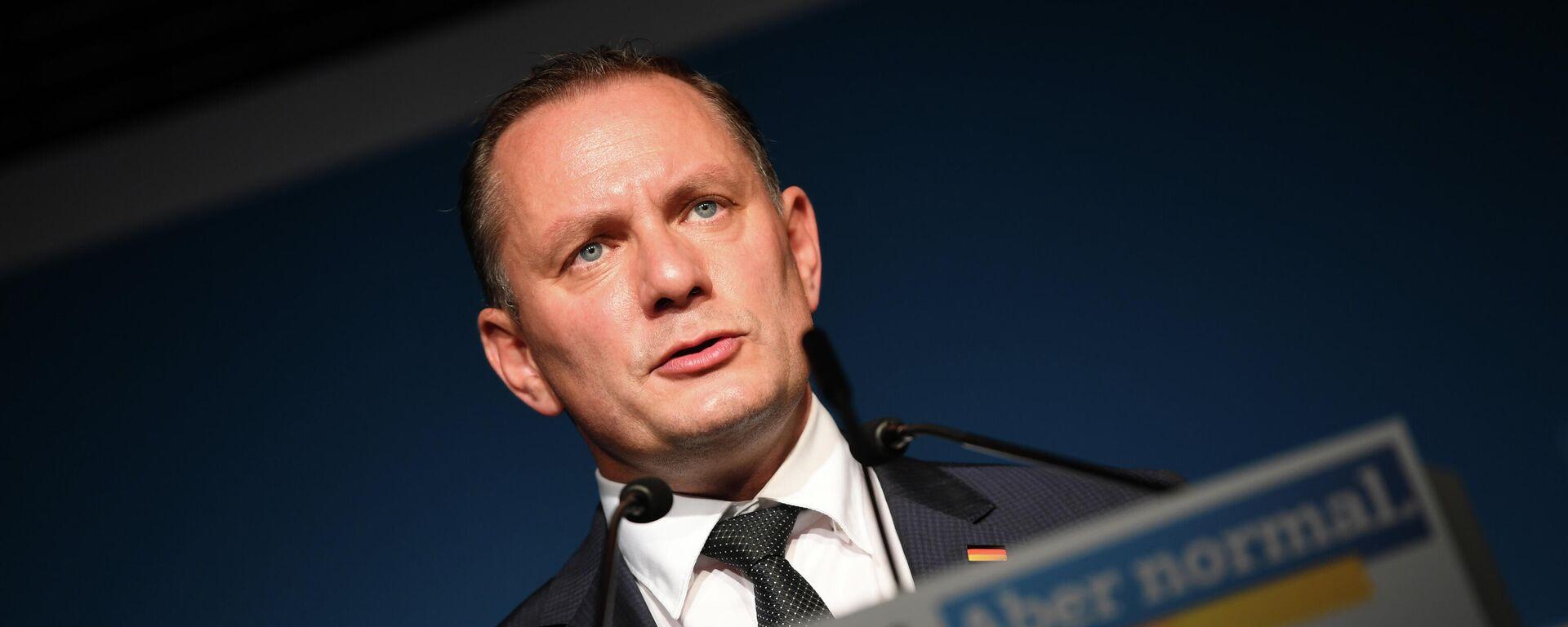 Der AfD-Co-Vorsitzende Tino Chrupalla am 26. September 2021 - SNA, 1920, 27.09.2021