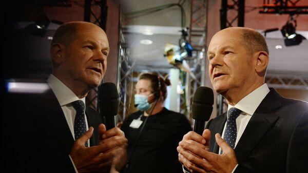 Кандидат в канцлеры Германии от СДПГ Олаф Шольц - SNA