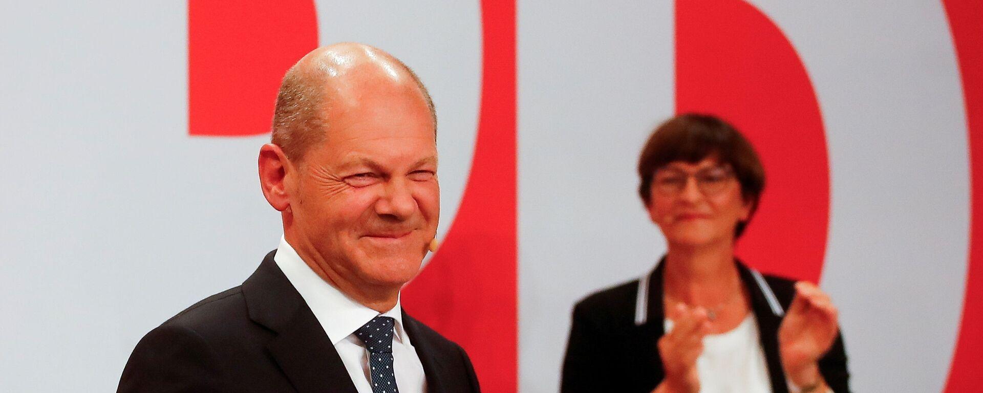 Bundestagswahl 2021 - SNA, 1920, 03.10.2021