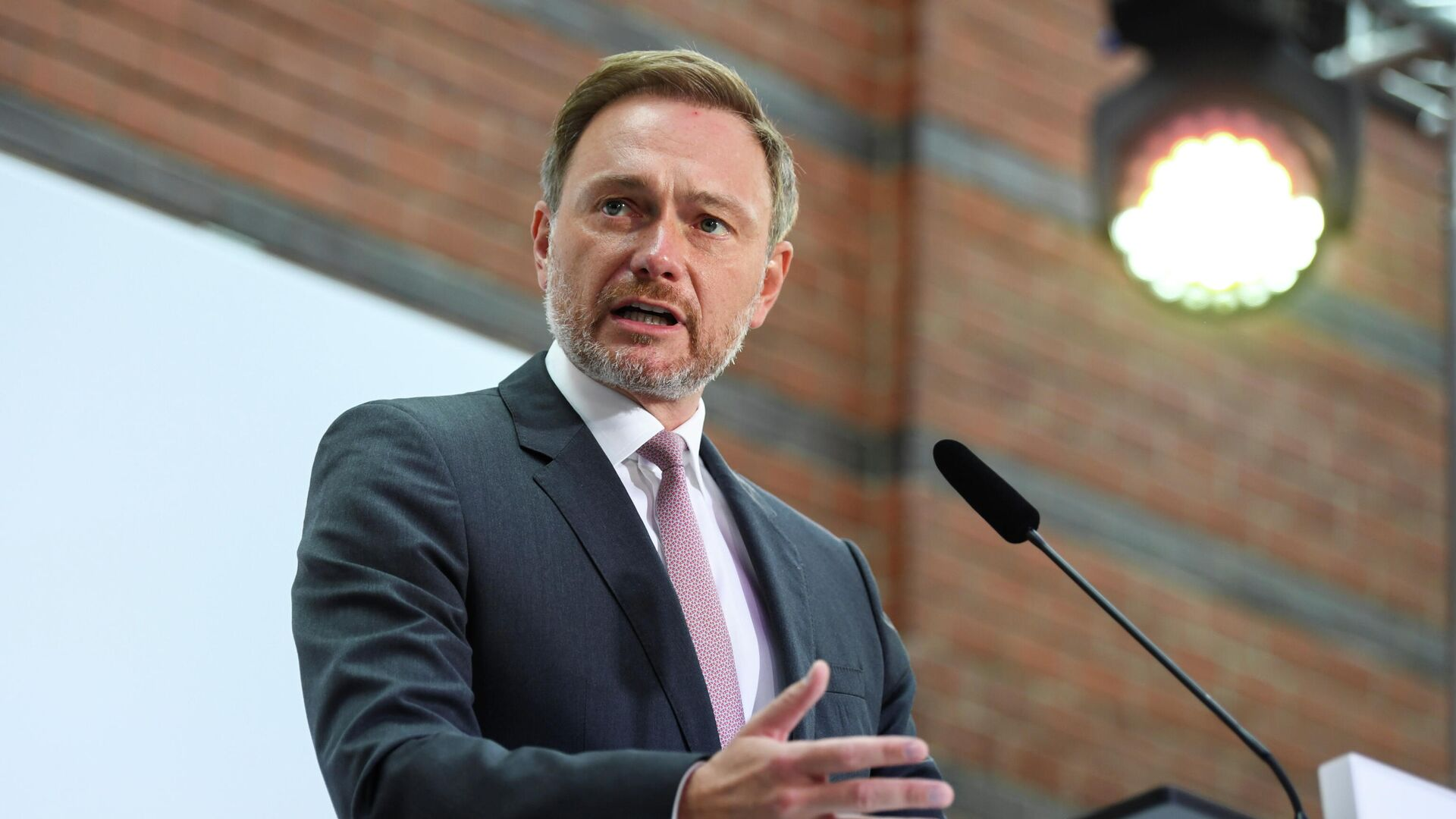 FDP-Kanzlerkandidat Christian Lindner am 27. September 2021 - SNA, 1920, 27.09.2021