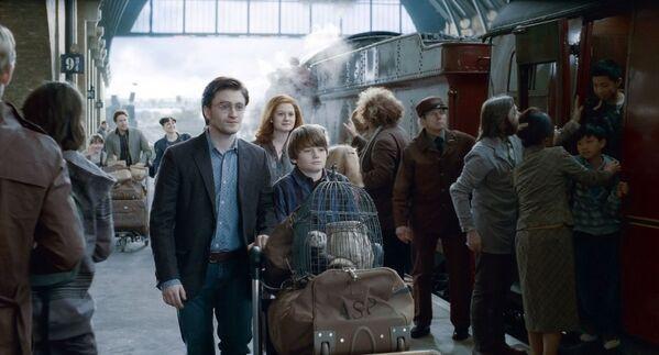 """Aufnahme aus dem Film """"Harry Potter und die Heiligtümer des Todes – Teil 2"""" (2010). - SNA"""