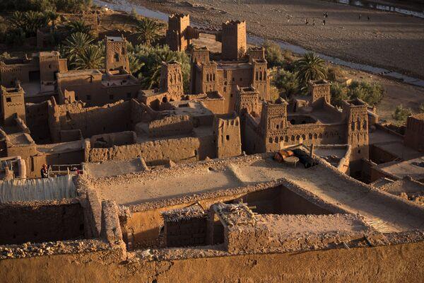 """Die antike Festung Ait-Ben-Haddou in Marokko, die in der TV-Serie """"Games of Thrones"""" die Stadt Yunkai darstellt. - SNA"""