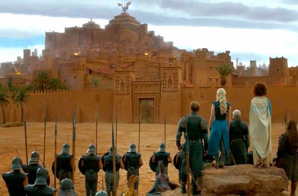 "Szene aus der TV-Serie ""Game of Thrones"" (2011 - 2019). - SNA"