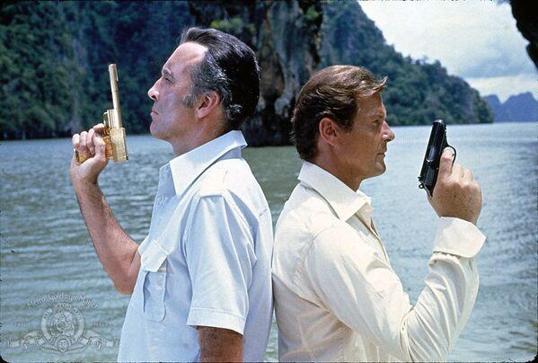 "Szene aus dem Film ""James Bond 007 – Der Mann mit dem goldenen Colt"" (1974). - SNA"