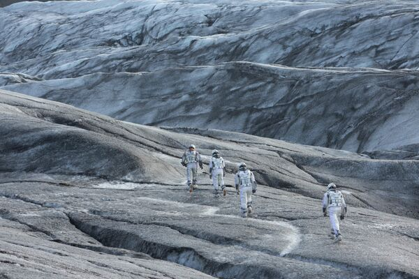 "Szene aus dem Film ""Interstellar""( 2014). - SNA"