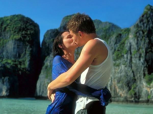 "Szene aus dem Film ""The Beach"" (2002). - SNA"