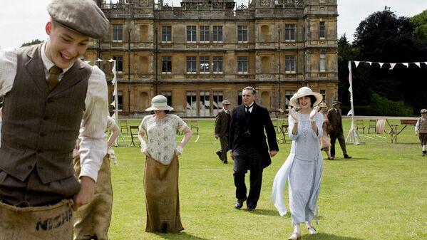 "Szene aus der TV-Serie ""Downton Abbey"" (2010 - 2015). - SNA"