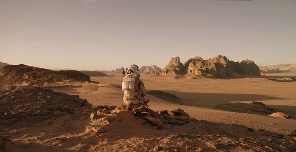 "Szene aus dem Film ""Der Marsianer – Rettet Mark Watney"" (2015). - SNA"