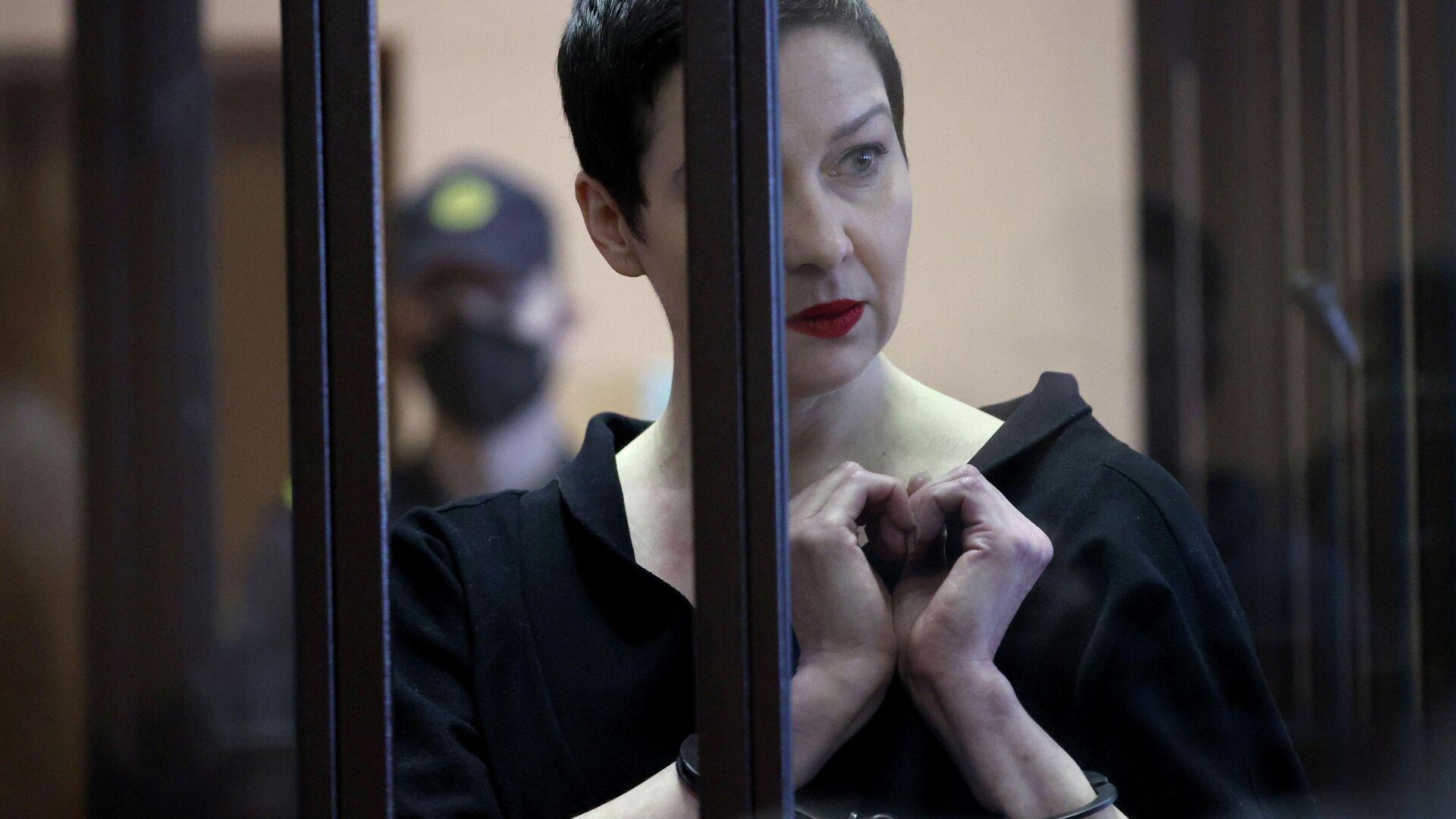 Maria Kolesnikowa, Mitglied des Koordinierungsrats der weißrussischen Opposition  - SNA, 1920, 27.09.2021
