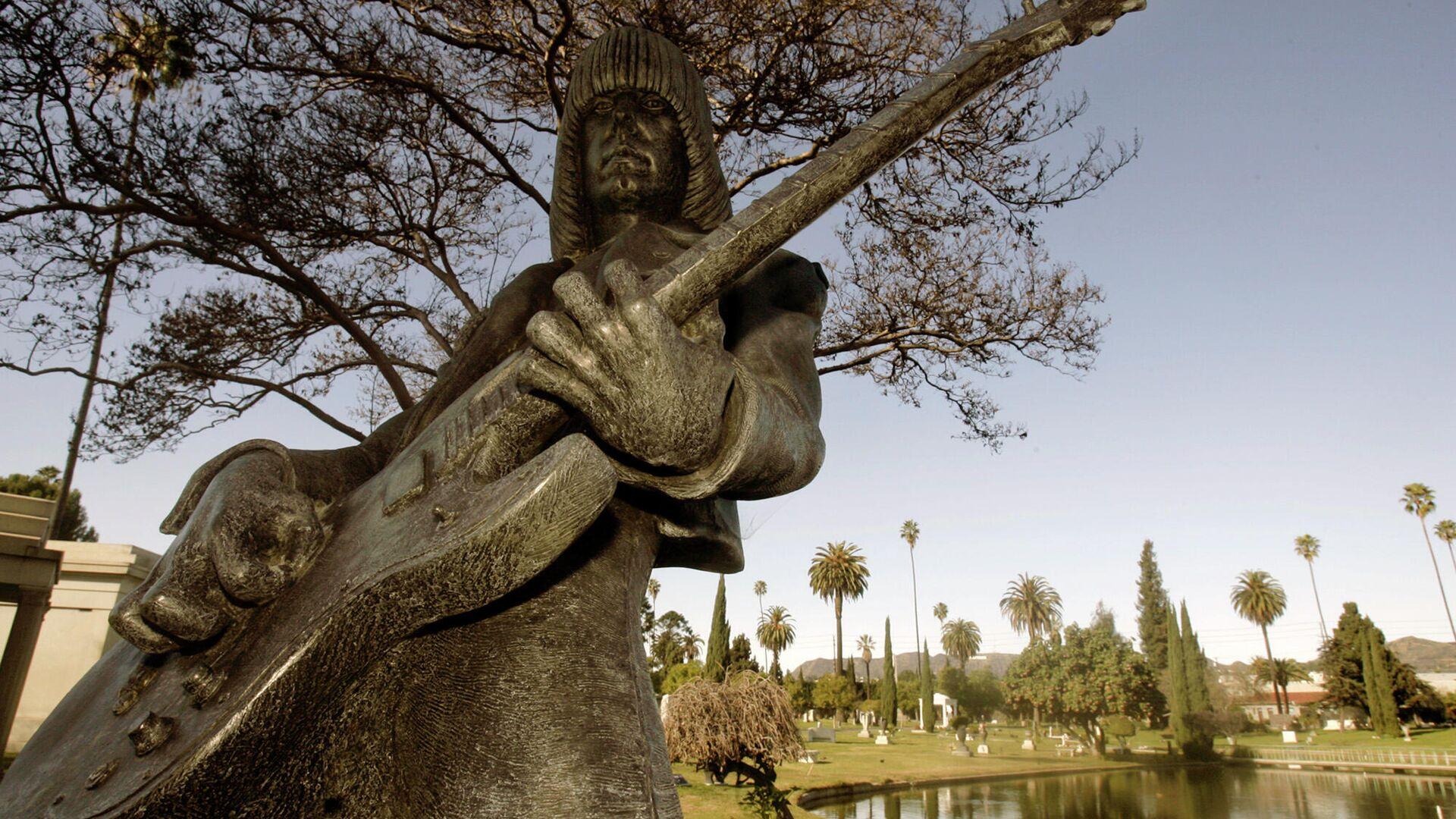 Ein Denkmal für den Punk-Musikers Johnny Ramone (1948-2004) in Los Angeles (Archiv) - SNA, 1920, 27.09.2021
