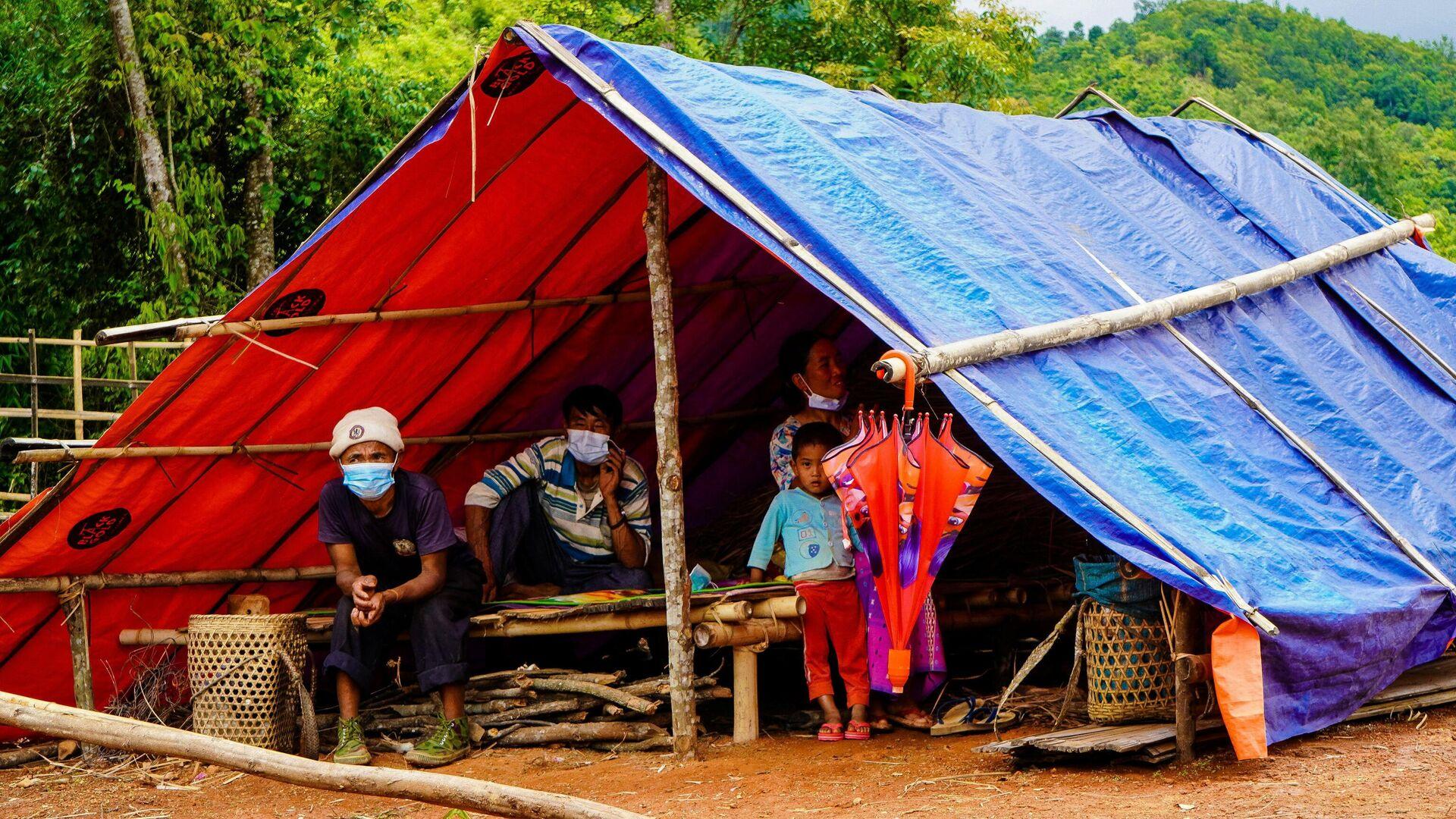 Menschen in Myanmar  - SNA, 1920, 28.09.2021