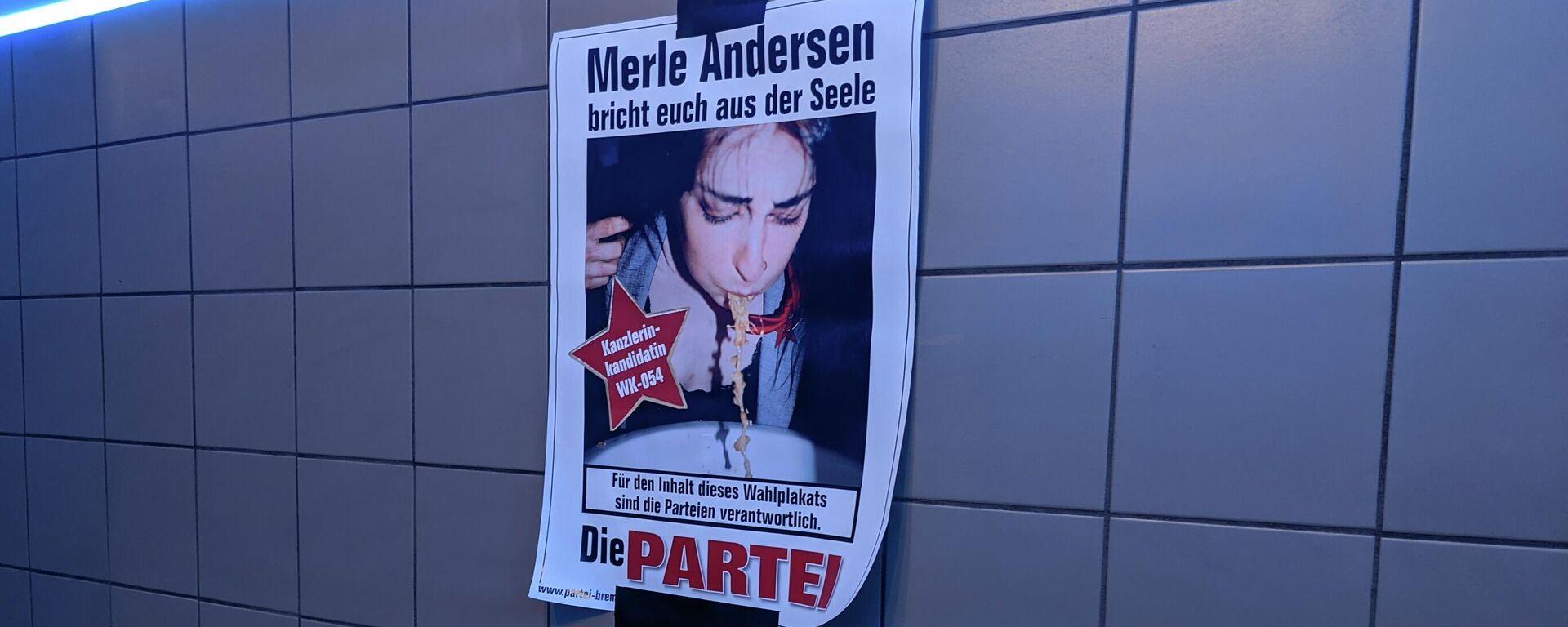 """Die """"Partei"""" nach Berlin-Wahl - SNA, 1920, 28.09.2021"""