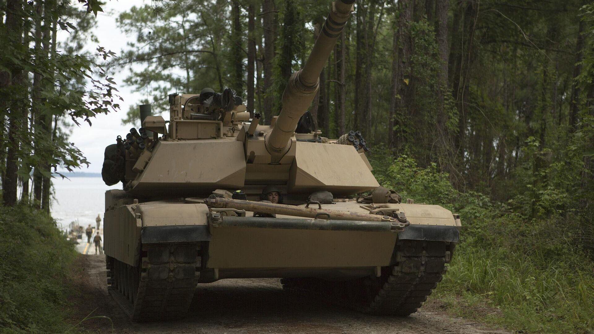 Abrams-Panzer. Symbolbild - SNA, 1920, 28.09.2021