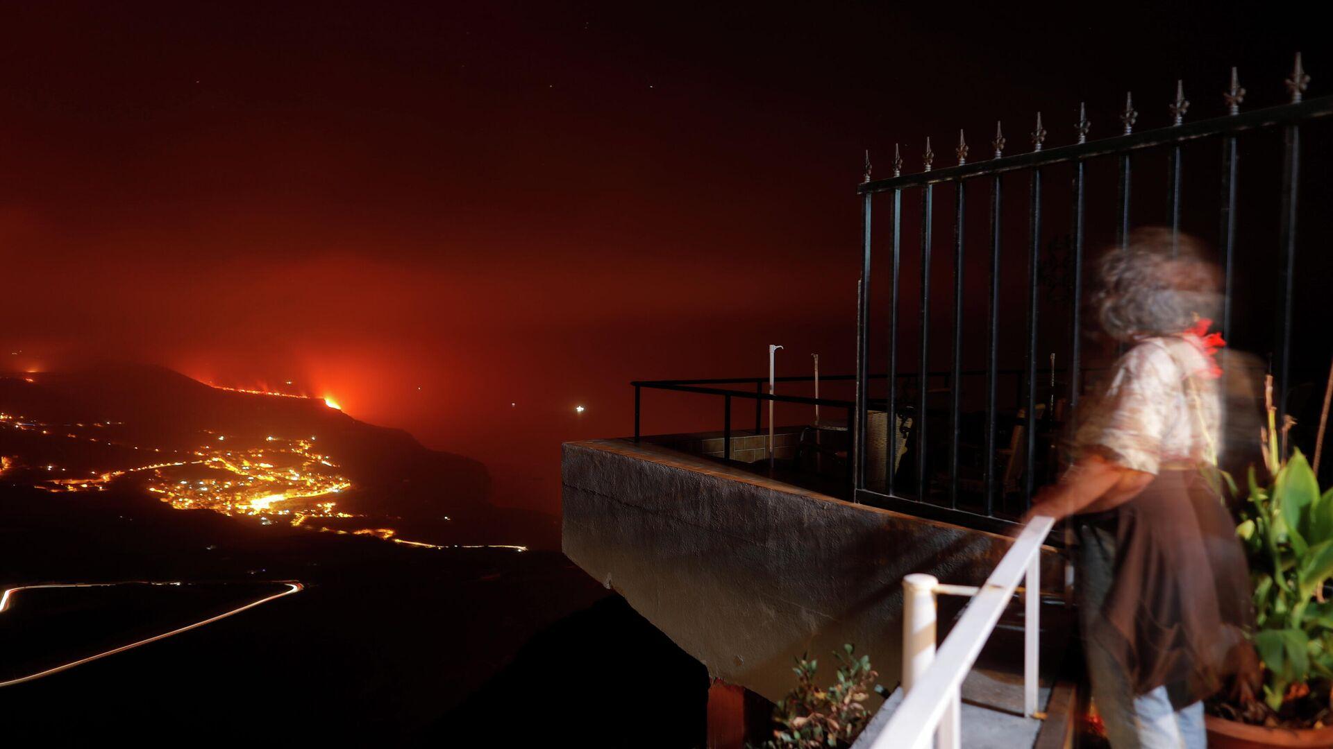 Vulkanausbruch auf La Palma  - SNA, 1920, 29.09.2021