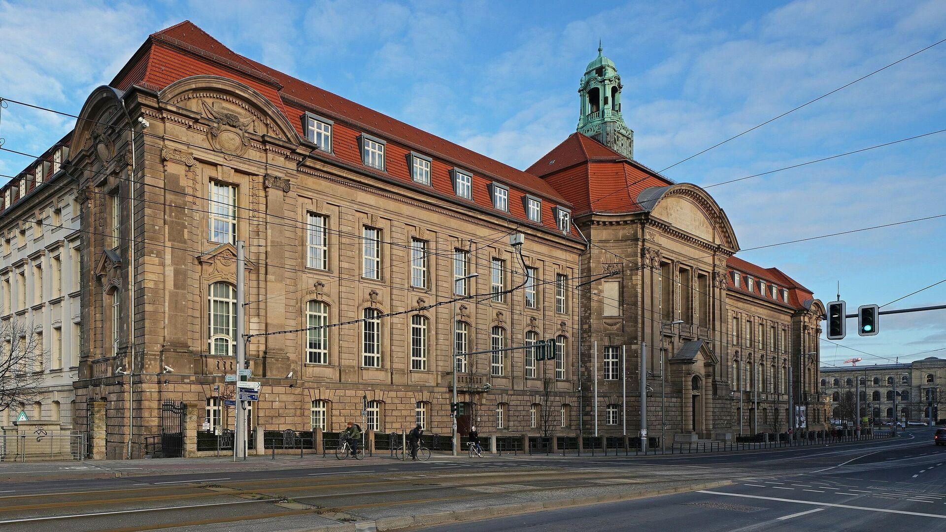 Das Gebäude des Ministeriums für Wirtschaft und Energie in Berlin  - SNA, 1920, 29.09.2021