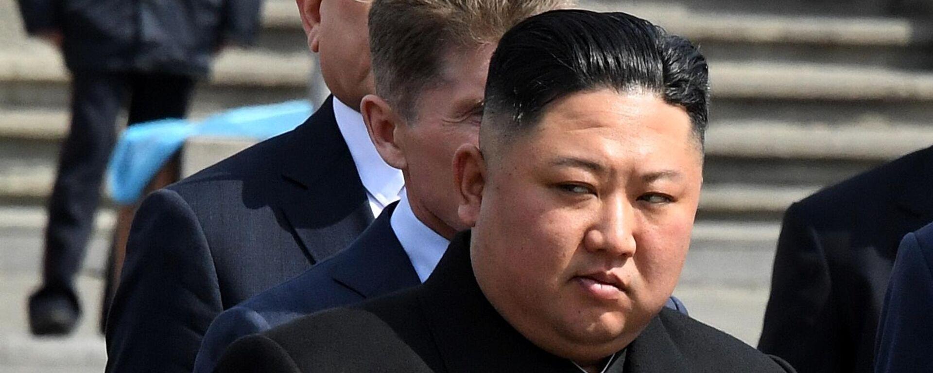 Nordkoreas Staatschef Kim Jong-un (Archivbild) - SNA, 1920, 30.09.2021