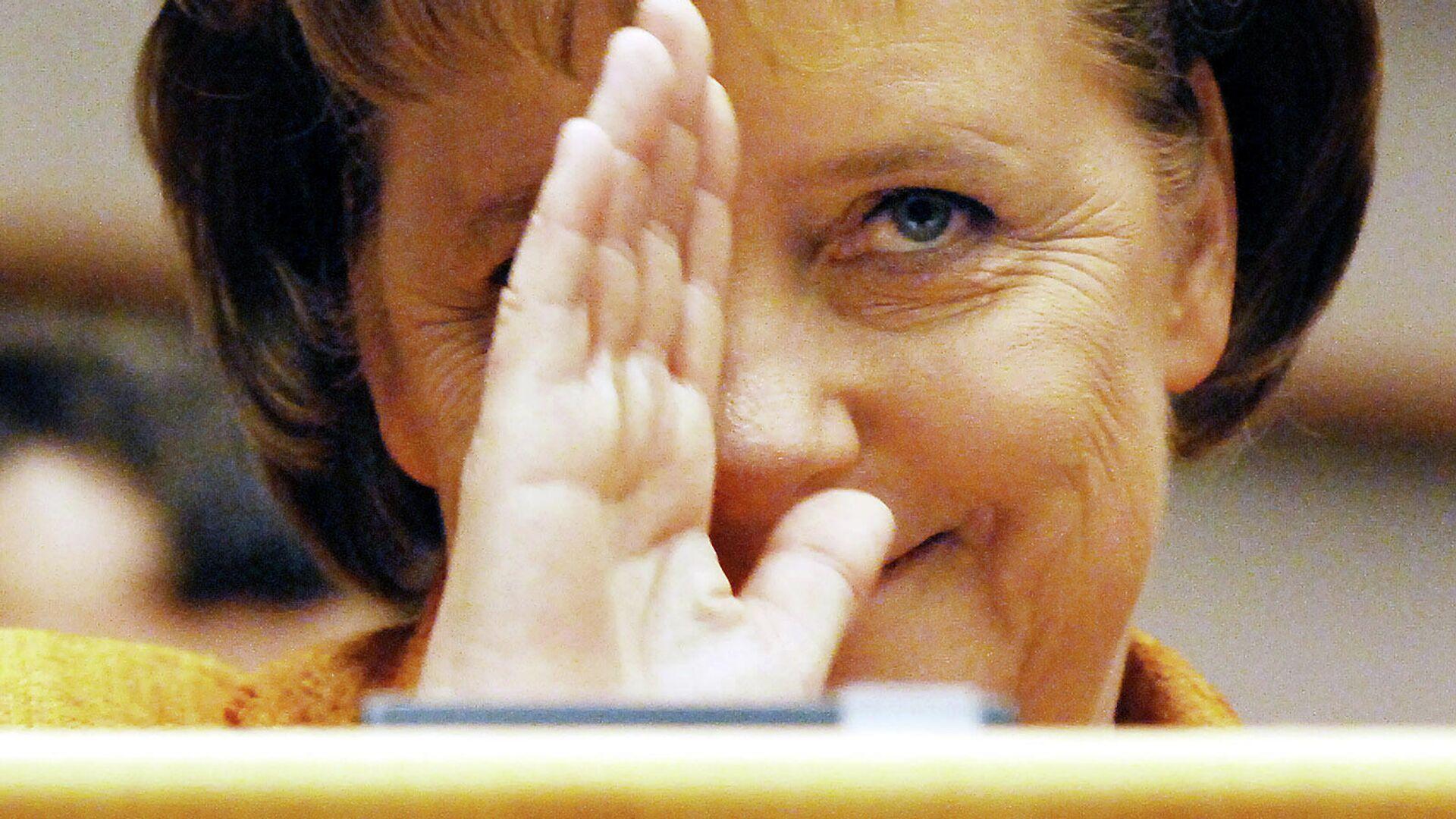 Bundeskanzlerin Angela Merkel - SNA, 1920, 09.10.2021