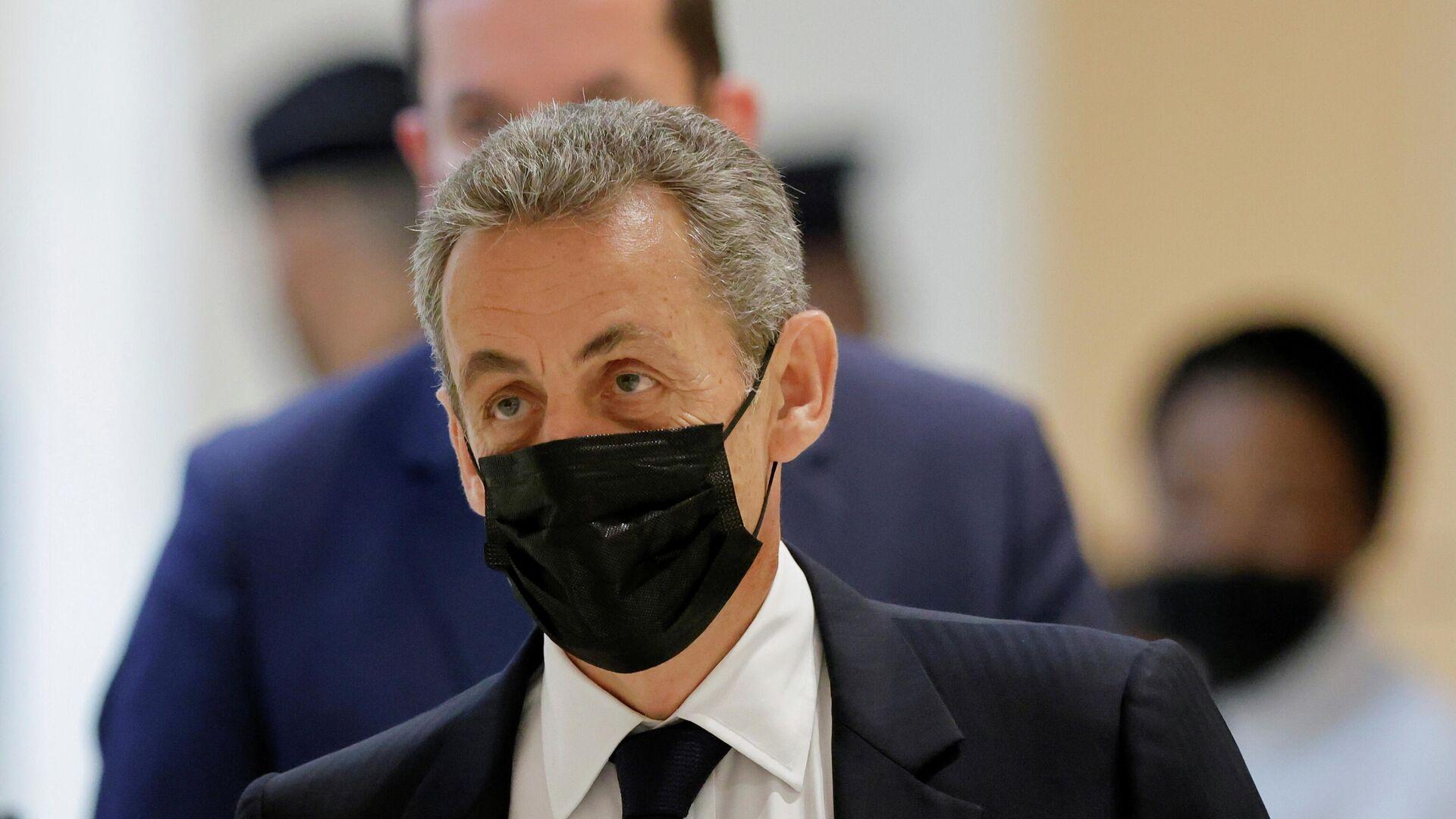 Prozess gegen Frankreichs Ex-Präsident Nicolas Sarkozy - SNA, 1920, 30.09.2021