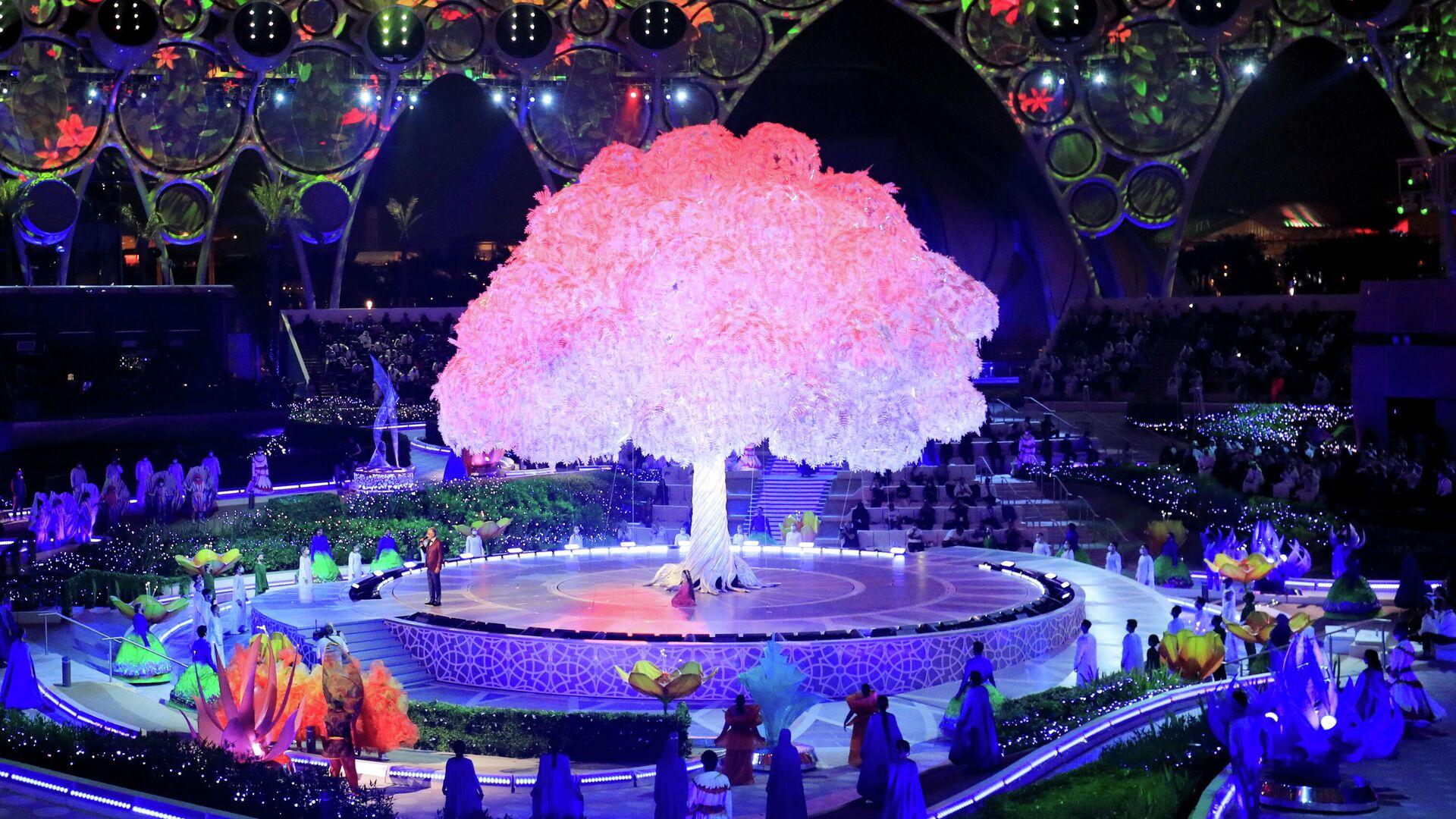 Feierliche Eröffnung der Weltausstellung Expo in Dubai. Vereinigte Arabische Emirate, 30. September 2021 - SNA, 1920, 30.09.2021