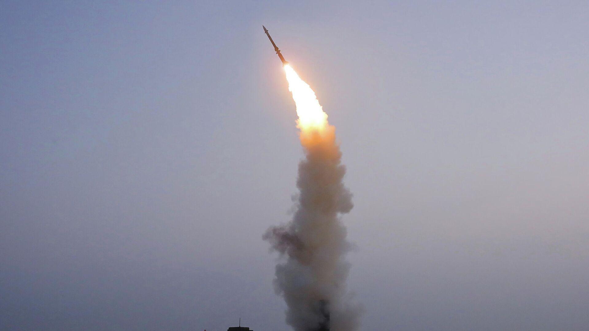 Nordkorea testet Flugabwehrrakete - SNA, 1920, 01.10.2021