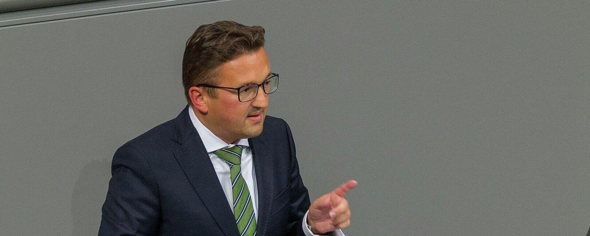 Carsten Körber, Chef der sächsischen Landesgruppe der CDU im Bundestag - SNA, 1920, 01.10.2021