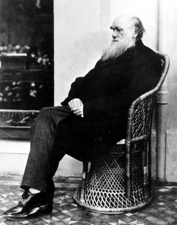 Der britische Naturforscher und Reisende Charles Darwin (1809-1882) veröffentlichte seine Evolutionstheorie, als er schon 50 war. - SNA