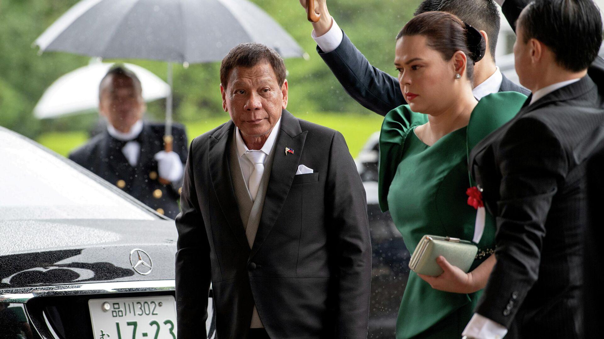 Der philippinische Präsident Rodrigo Duterte  - SNA, 1920, 02.10.2021