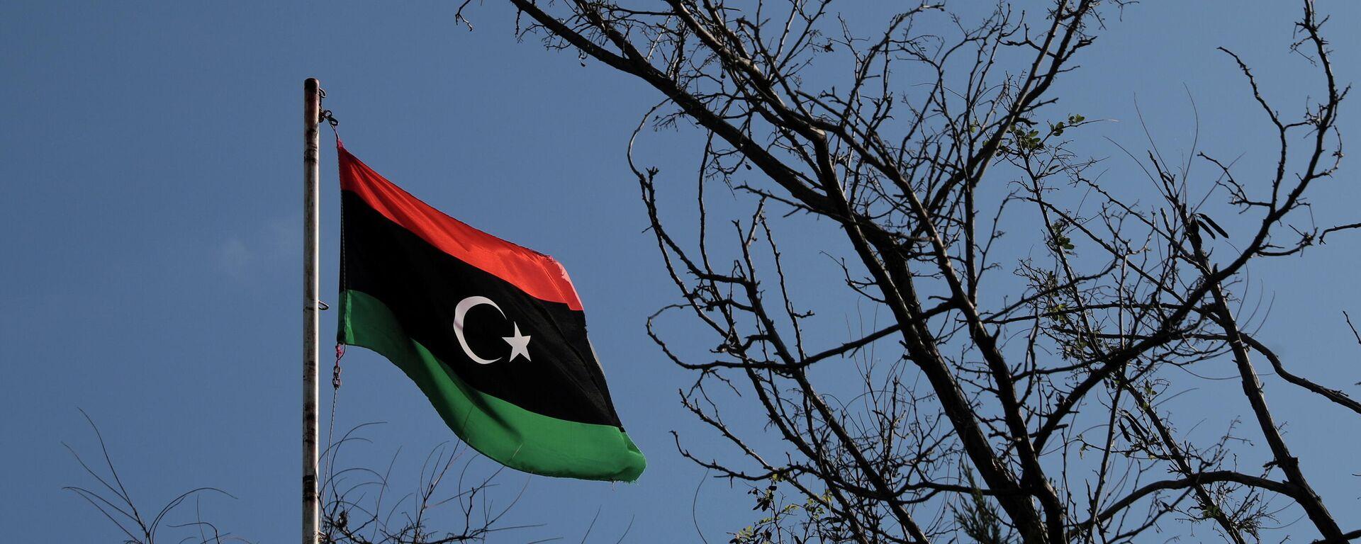 Libyen Flagge - SNA, 1920, 08.10.2021
