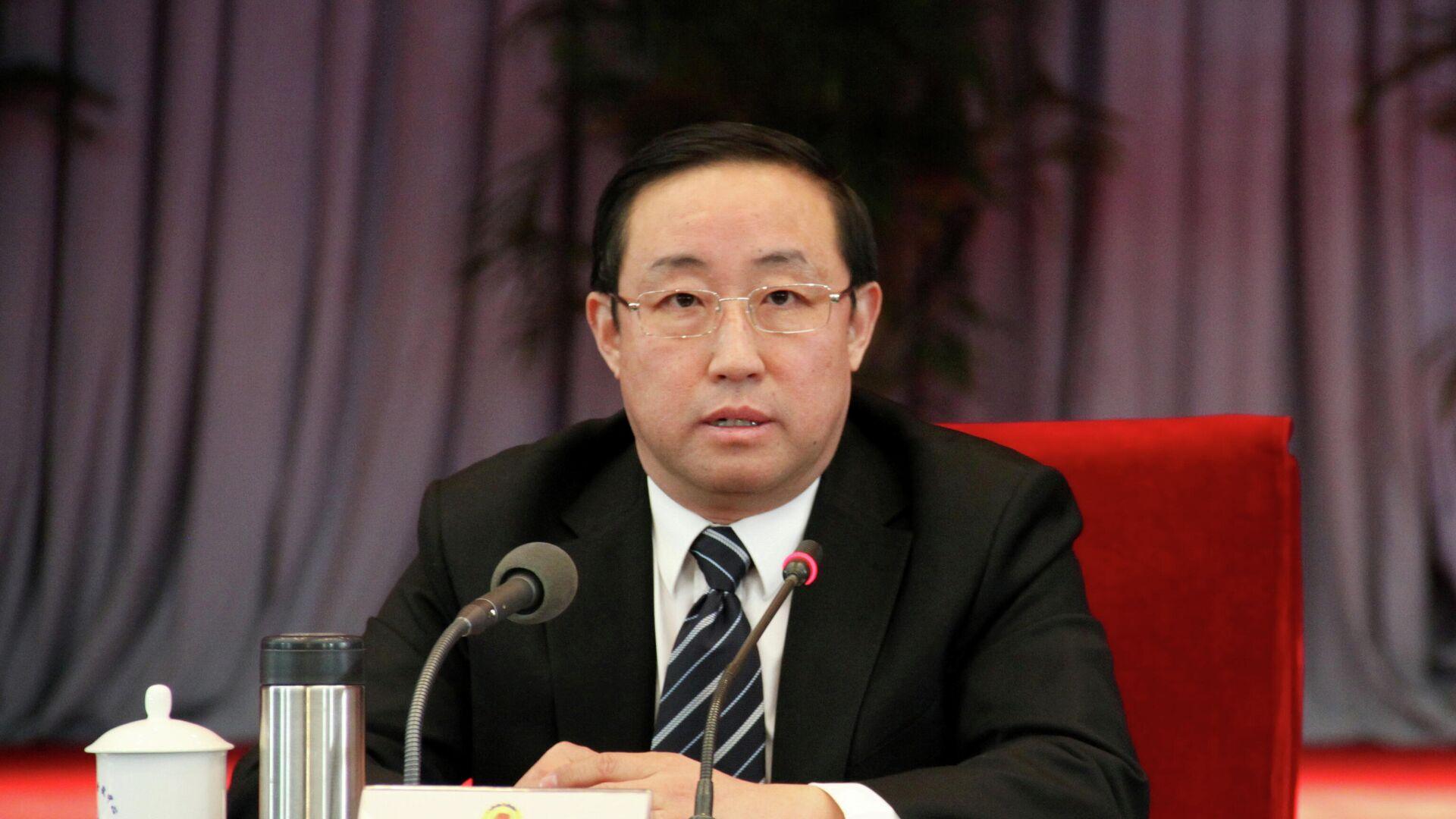 Der ehemalige chinesische Justizminister Fu Zhenghua - SNA, 1920, 02.10.2021