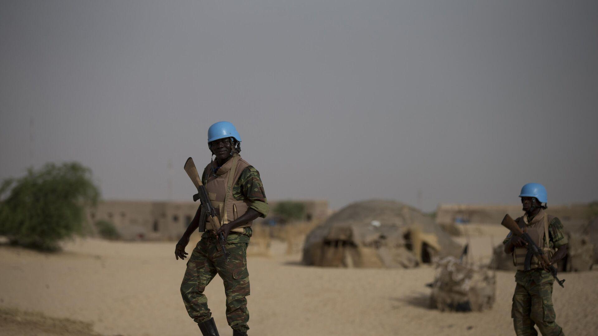 UN-Blauhelmsoldaten in Mali (Archivbild) - SNA, 1920, 03.10.2021