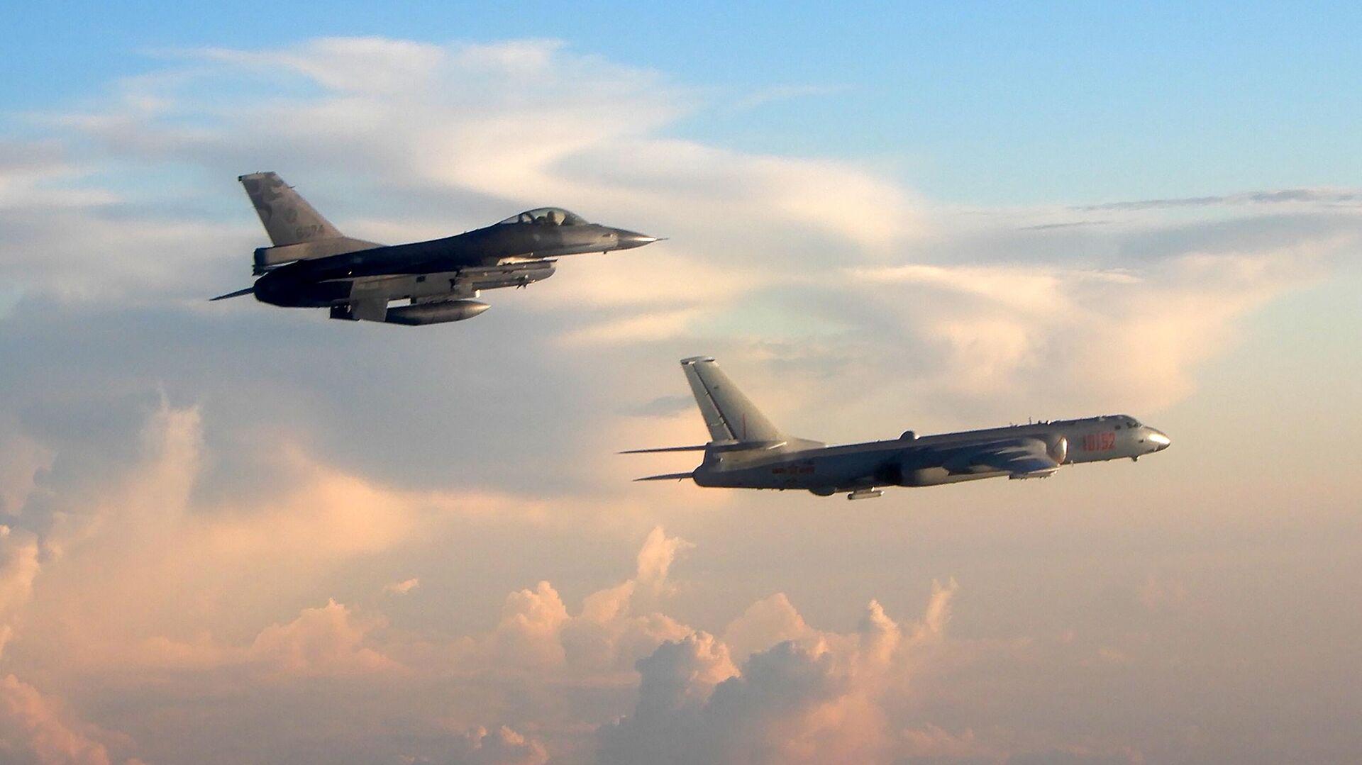 Taiwans Kampfjets vom Typ F-16 - SNA, 1920, 03.10.2021