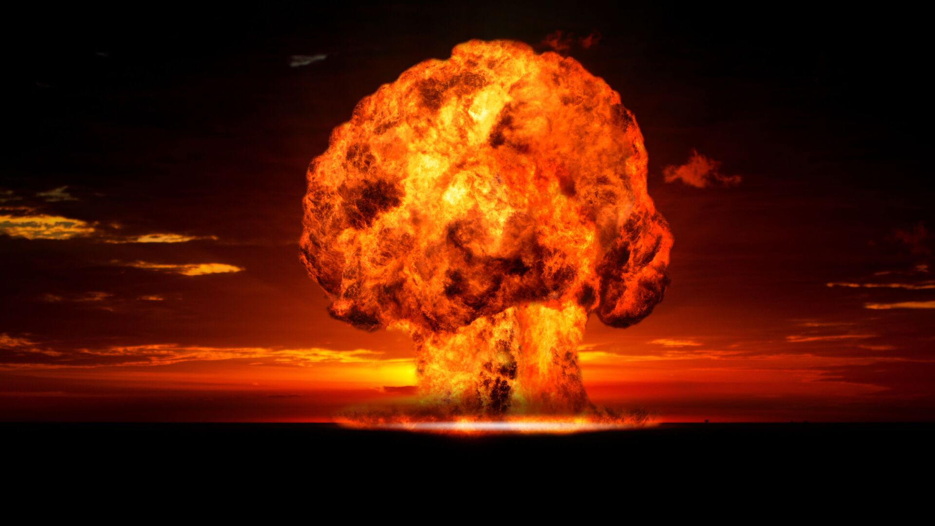 Atomexplosion (Symbolbild) - SNA, 1920, 04.10.2021