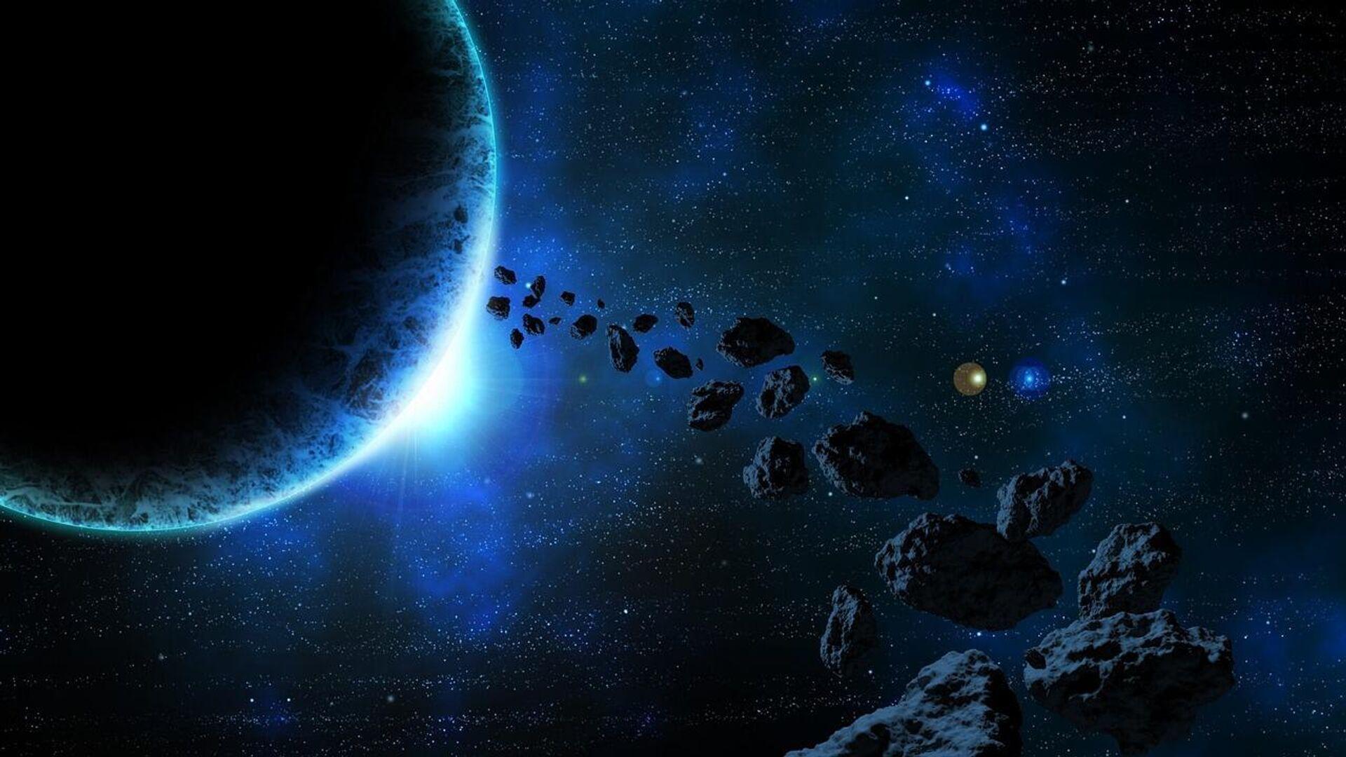 Asteroiden (Symbolbild) - SNA, 1920, 04.10.2021