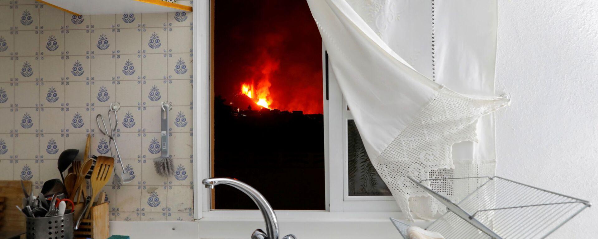 Vulkanausbruch auf La Palma - SNA, 1920, 04.10.2021