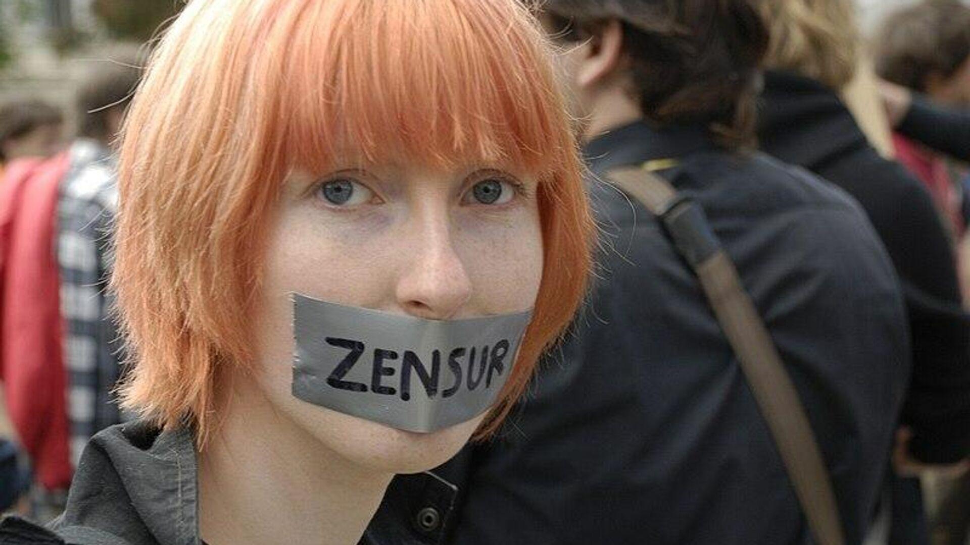 Zensur (Symbolbild) - SNA, 1920, 04.10.2021