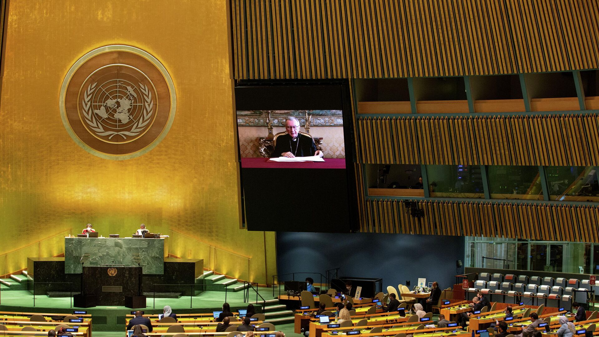 UN-Klimakonferenz 2021 - SNA, 1920, 04.10.2021