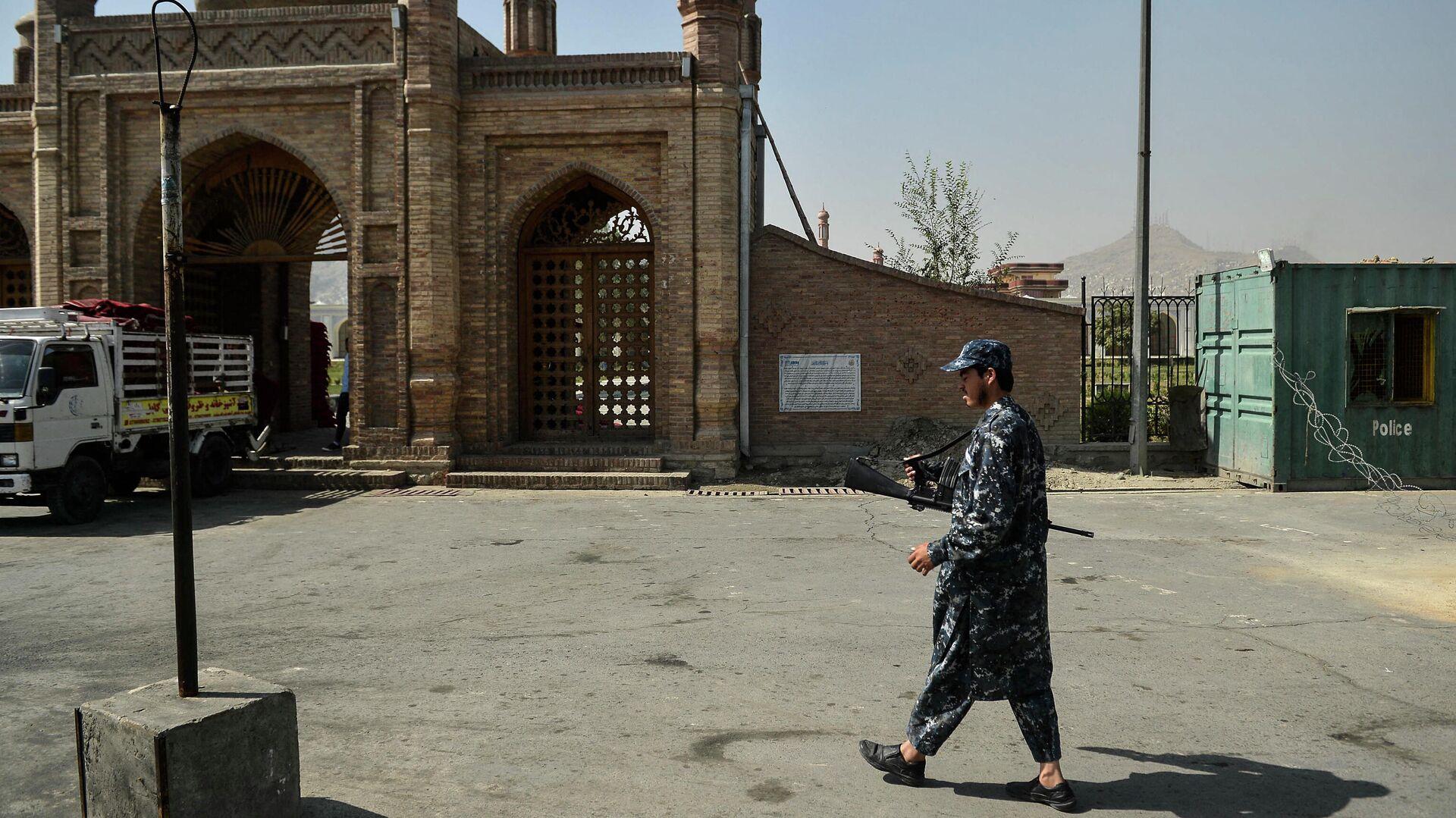 Bei Bombenanschlag vor der Eid Gah-Mosche in Kabul kamen am 3. Oktober zwölf Menschen ums Leben - SNA, 1920, 04.10.2021