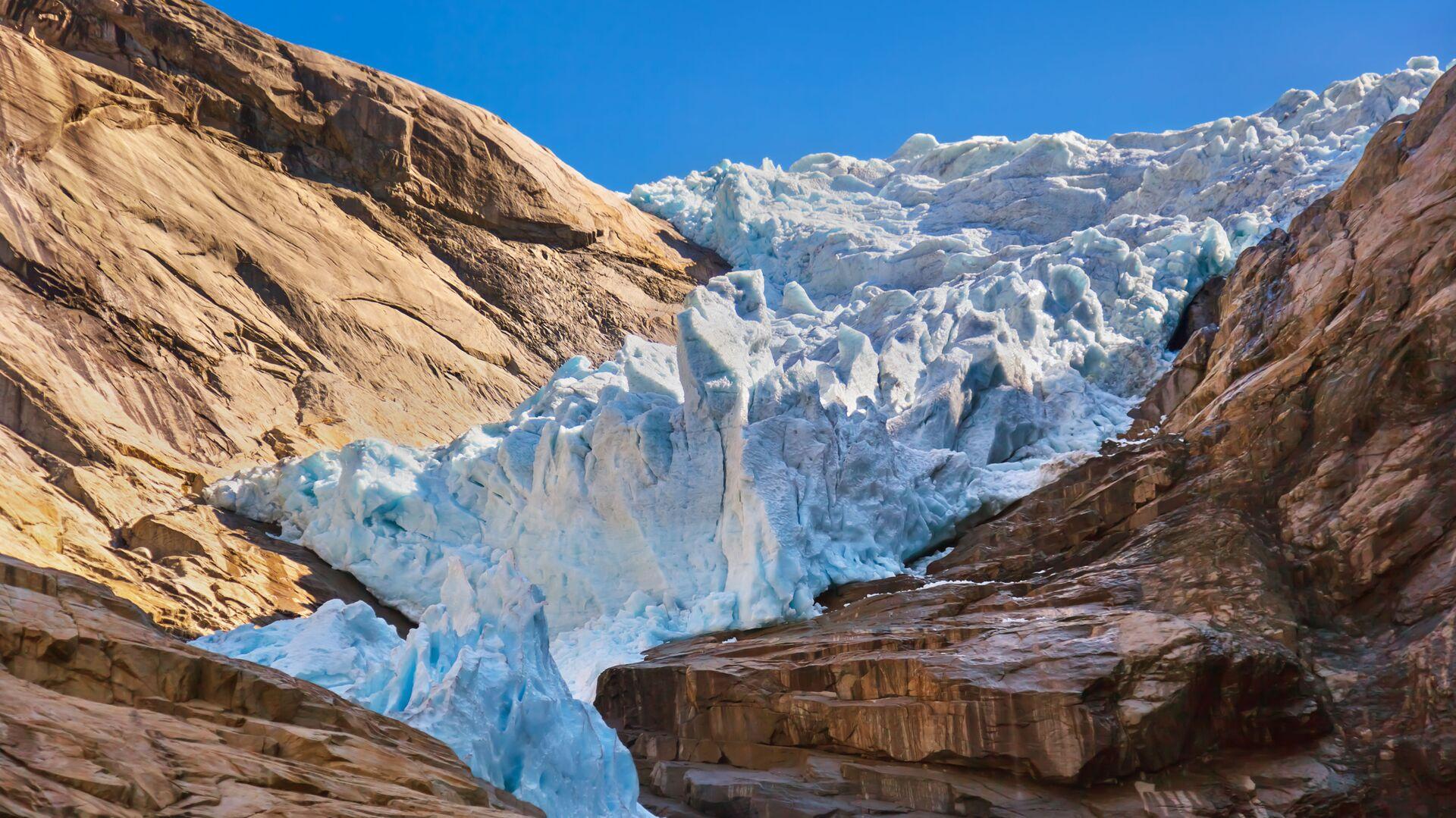 Briksdal-Gletscher, Norwegen - SNA, 1920, 06.10.2021
