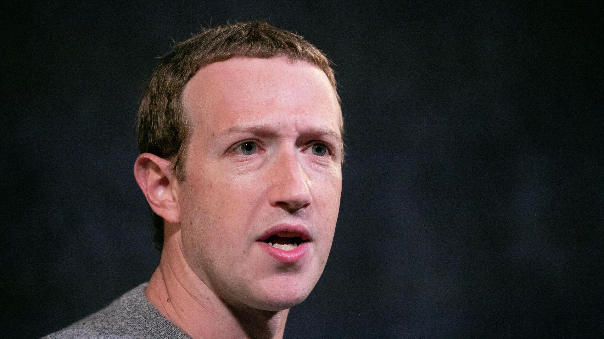 Mark Zuckerberg (Archivbild) - SNA, 1920, 06.10.2021