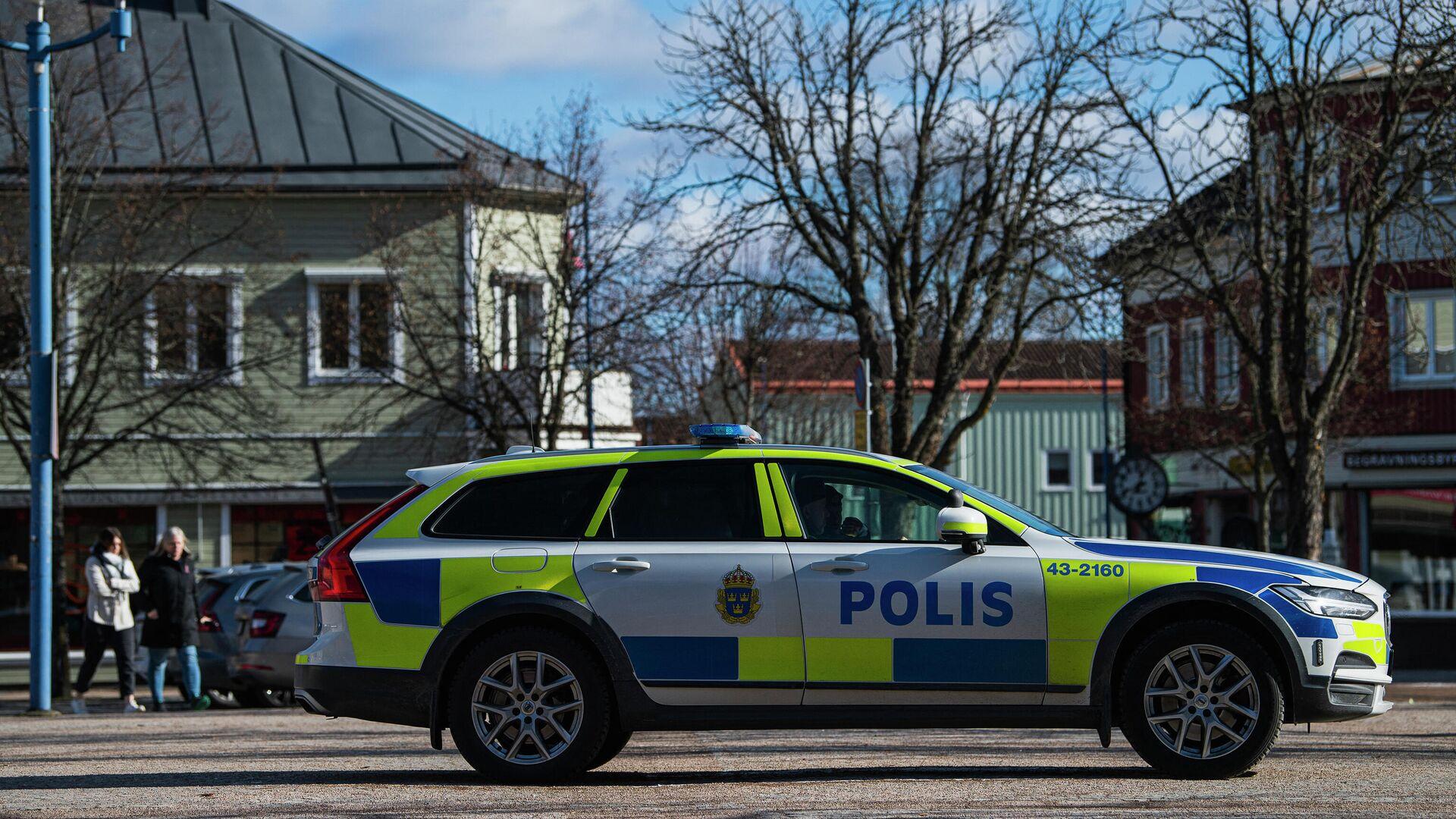 Ein schwedisches Polizeiauto - SNA, 1920, 06.10.2021