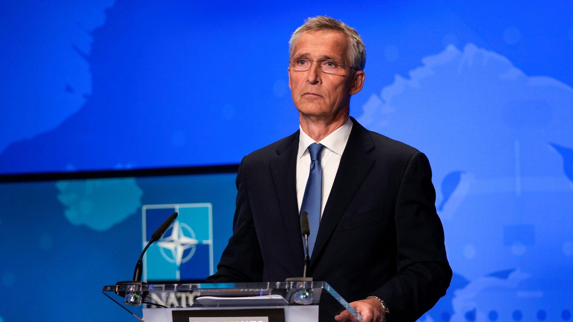 Nato-Generalsekretär Jens Stoltenberg - SNA, 1920, 06.10.2021