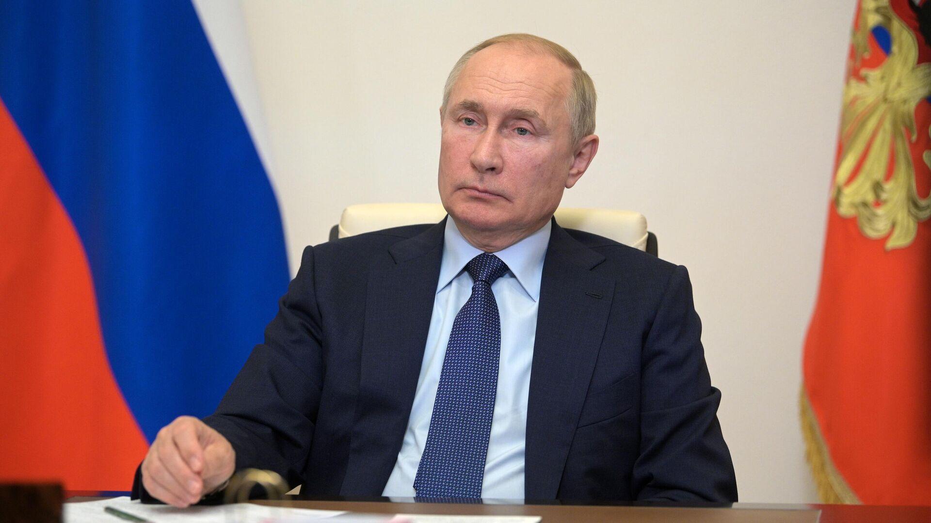 Russlands Präsident Wladimir Putin  - SNA, 1920, 06.10.2021