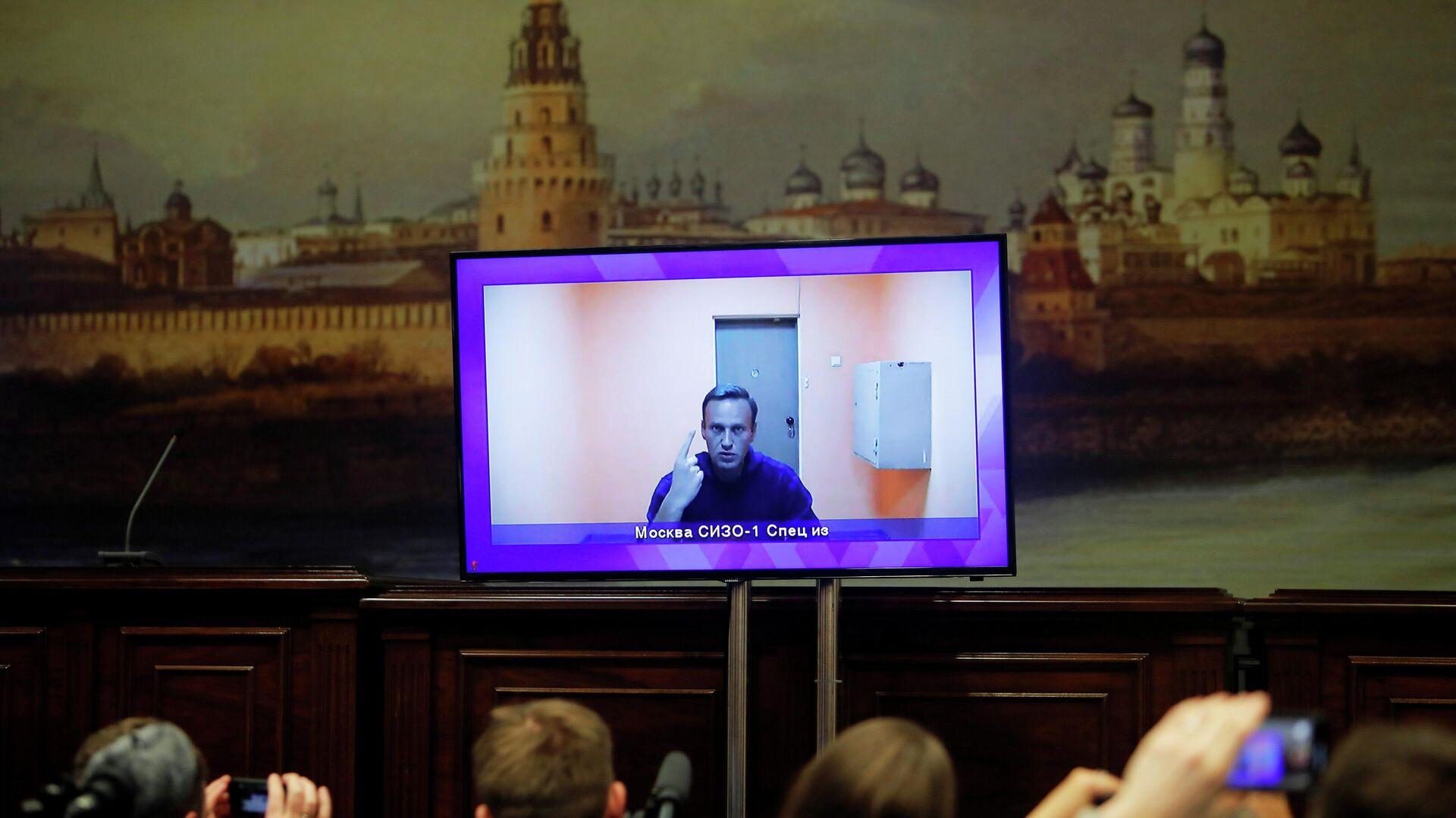 Der russische Oppositionspolitiker Alexej Nawalny (Archivbild) - SNA, 1920, 07.10.2021