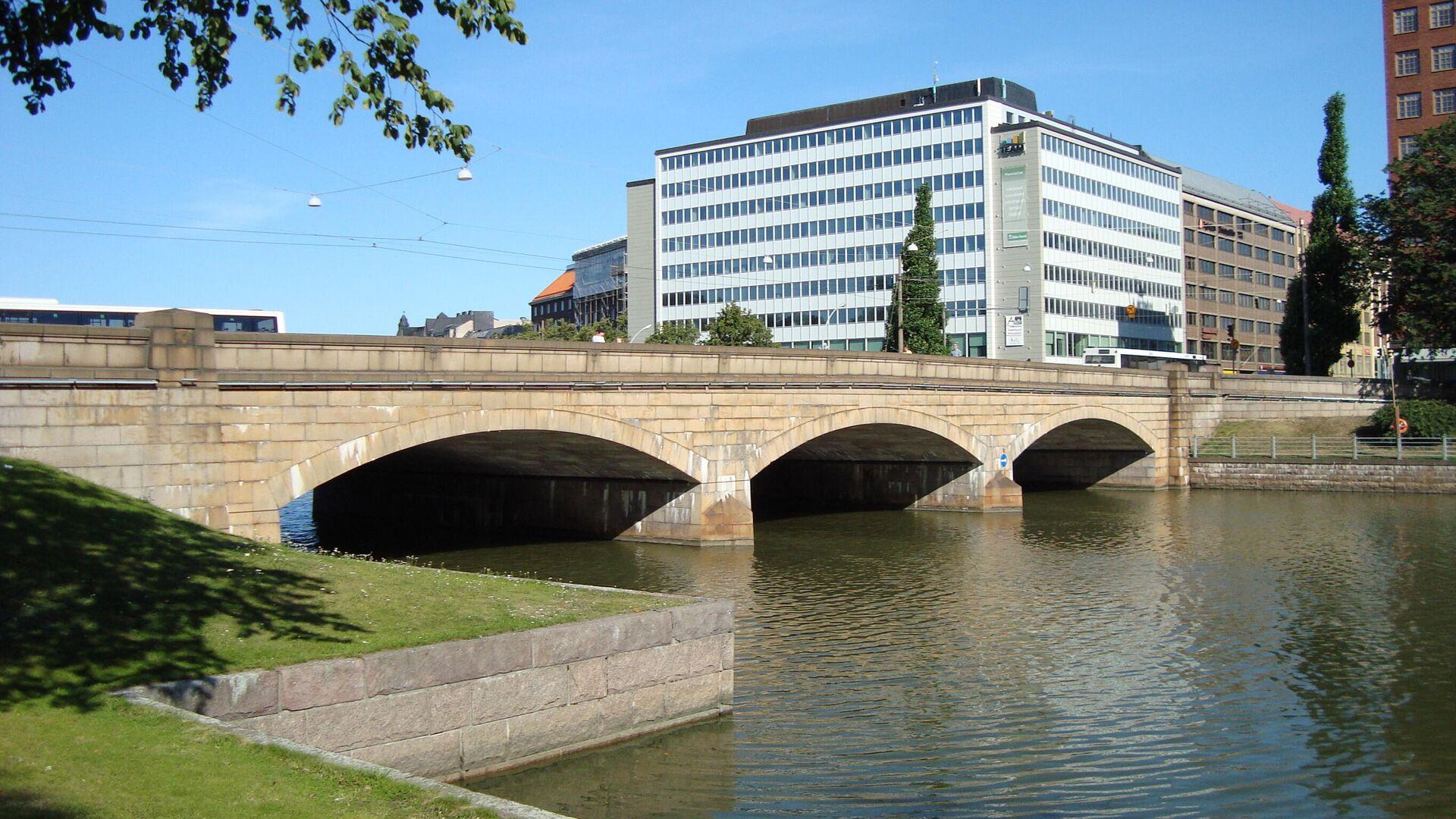Pitkäsilta (Lange Brücke) in Helsinki - SNA, 1920, 07.10.2021